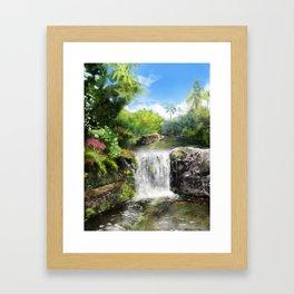 Hawaiian  Garden Framed Art Print