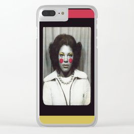 Small Town Talk Clear iPhone Case