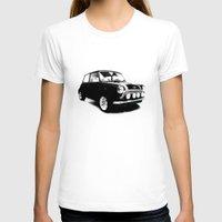 mini cooper T-shirts featuring The Mini Cooper by Mark Rogan
