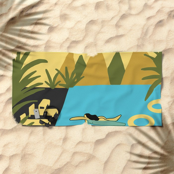summer 2 Beach Towel