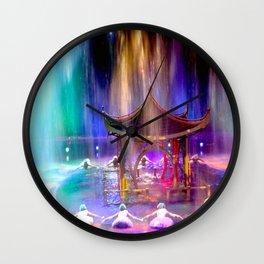Dancing Water Wall Clock