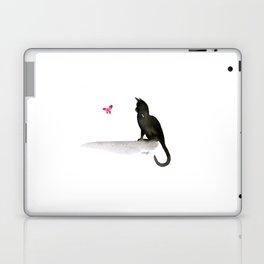 I Love Cats No.4 by Kathy Morton Stanion Laptop & iPad Skin