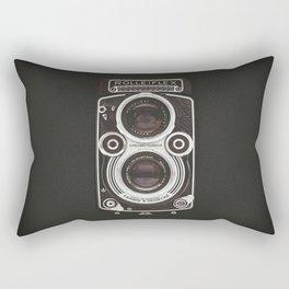 Vintage Camera 02 Rectangular Pillow