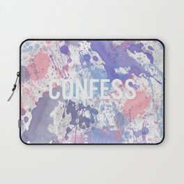 Confess - inverted Laptop Sleeve