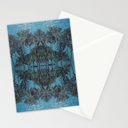Puzzle Palms  Stationery Cards