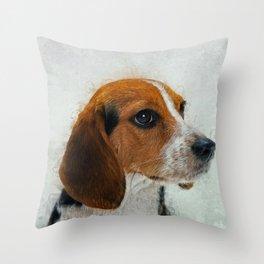 Beagle Throw Pillow