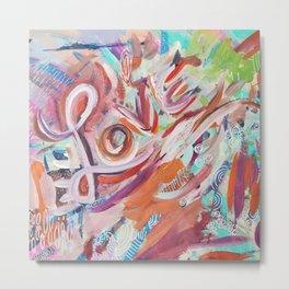 Love Grafitti Metal Print