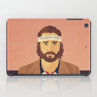 tenenbaums iPad Cases featuring Richie by Perry Misloski