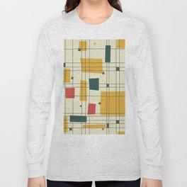 Mid-Century Modern (gold) Long Sleeve T-shirt