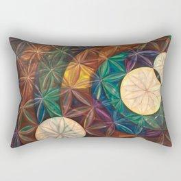 Tetrahedral Nodes HDR Rectangular Pillow