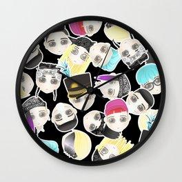 BIGBANG Collage (Black) Wall Clock