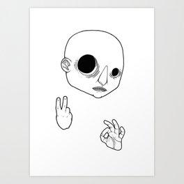 Bodhisattva #02 Art Print