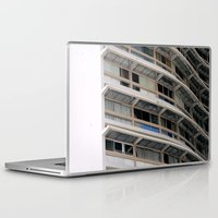 building Laptop & iPad Skins featuring Building by anacaprini