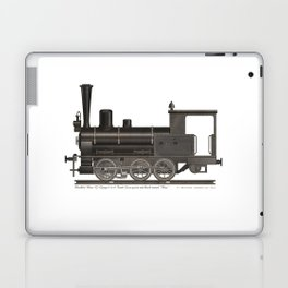 Locomotive Black Max Laptop & iPad Skin