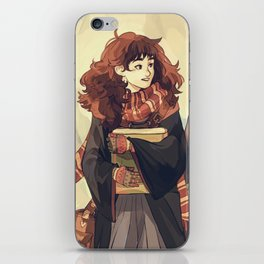 the golden trio iPhone Skin