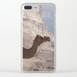 Dhofari Camel Clear iPhone Case
