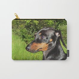 Dog Dachshund Doxie Carry-All Pouch