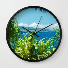 Kahanu Garden Wall Clock