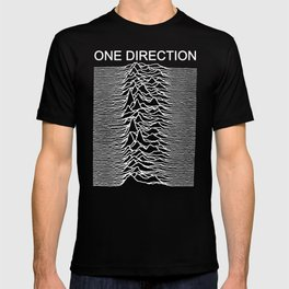 One Direction / Joy Division's Unknown Pleasures T-shirt