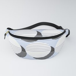 Simple Circle Pattern Fanny Pack