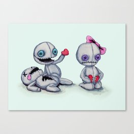 Plush Love Canvas Print
