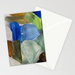 New England Beach Glass Stationery Cards
