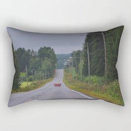 On the road by Giada Ciotola Rectangular Pillow