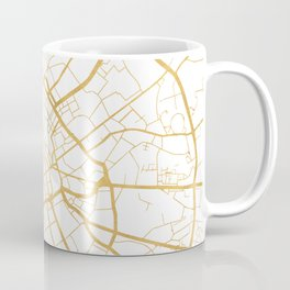 MANCHESTER ENGLAND CITY STREET MAP ART Coffee Mug