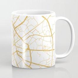 MANCHESTER ENGLAND CITY STREET MAP ART Coffee Mug