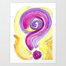 Flow Series #13 Art Print