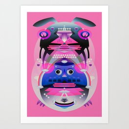 Ralph Art Print