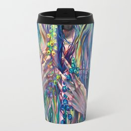 The Rustle of Narwhal's Wings Travel Mug