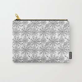 Spider Web Pattern Carry-All Pouch
