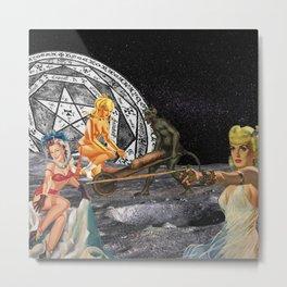 Pagan Circle Metal Print