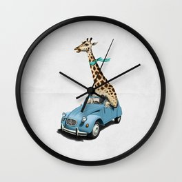 Riding High! (Wordless) Wall Clock