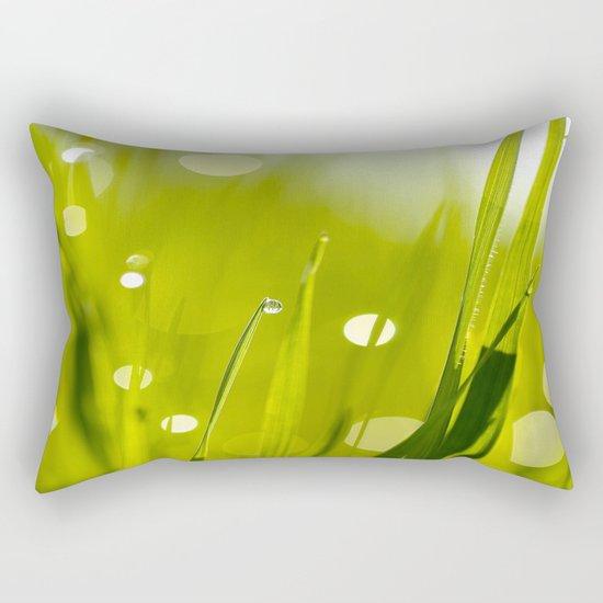 Wonderful Morning Dew Rectangular Pillow