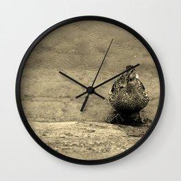 Standing Still Wall Clock