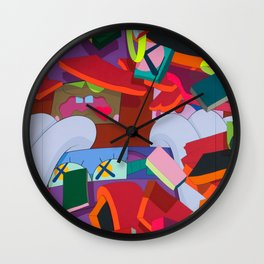 "KAWS, ""Silent City"" 2011 Wall Clock"