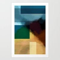 from chance to break Art Print