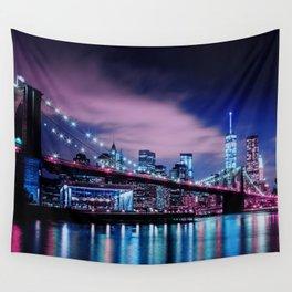 New York - Brooklyn Bridge Wall Tapestry