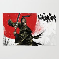 Samurai Warrior Rug