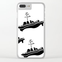 The Face That Launched 1,000 Ships Clear iPhone Case