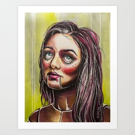 Dummy Doll Art Print