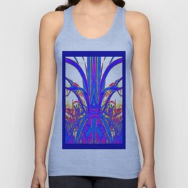 Blue Agave Tropical Evening Unisex Tank Top