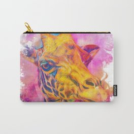 Painterly Animal - Giraffe 1 Carry-All Pouch