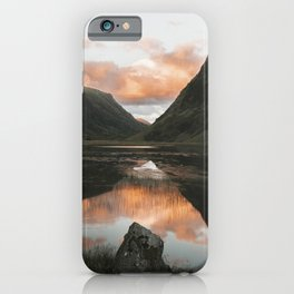 Time Is Precious - Landscape Photography iPhone Case