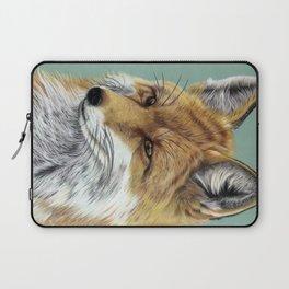Fox Portrait 01 Laptop Sleeve