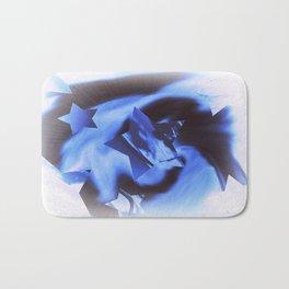 Starburts II cold blue Bath Mat