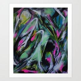 velvet slip Art Print