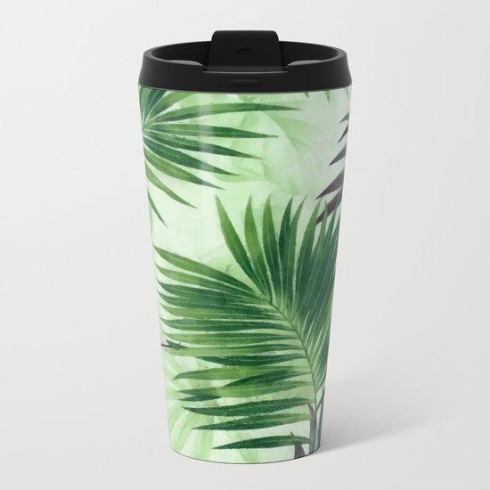 Palm leaves IV Metal Travel Mug